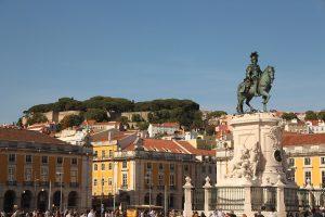 Praça do Comércio Lisboa Portugal
